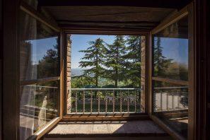 atrakcyjne tarasowe okna drewniane